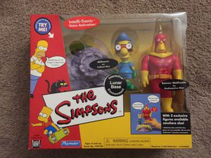 Simpsons figures Playmates for Sale in Riverside, CA