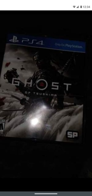 Ghost of tsushima ps4 for Sale in Baltimore, MD