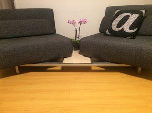 Grey multi-way custom futon for Sale in Los Angeles, CA