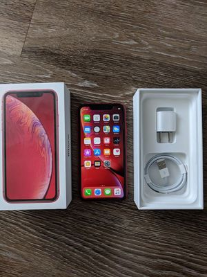 SEALED NEW IN PLASTIC APPLE iPHONE XR 64GB UNLOCKED VERIZON AT&T T-MOB for Sale in Fresno, CA
