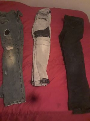 Biker jeans for Sale in Roseville, MI