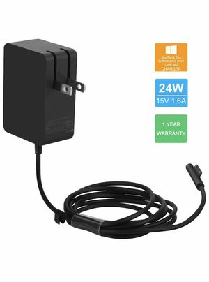 24W 15V 1.6A Surface Go Charger Power Supply for Microsoft Surface Go/Surface Pro 4 Core m3/Surface Pro 3 Core m3/Surface Pro 2017 Core m3 Tablet/Sur for Sale in Adrian, WV