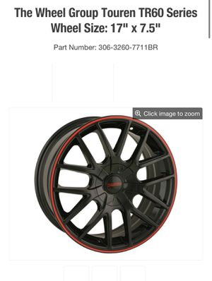 Rims 17 universal for Sale in Sioux City, IA