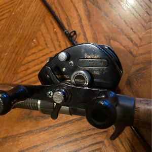 81/2ft Med Action Abu Garcia Northern Plus Salmon Steelheader Graphite Rod With A Shimano Bantam 251 Mag Plus Left Hand Baitcasting Reel. for Sale in Portland, OR