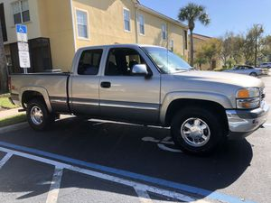 2001 GMC Sierra Extended cab 5.3K 140k Z-71 4x4 runs Perfectly Clean & Reliable.. for Sale in Davenport, FL