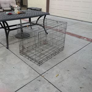 Large Metal Dog Crate for Sale in San Jose, CA
