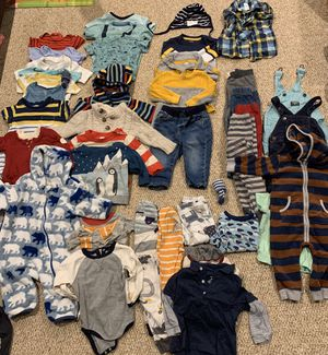 Huge collection of boys 12-18 months clothing for Sale in Silver Spring, MD