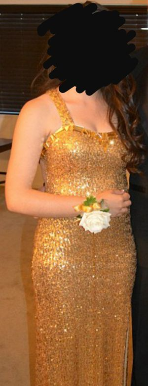 Gold Prom Dress for Sale in El Centro, CA