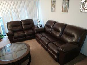 Sofa Set - 3 seat & 2 seat - Recliner Sofa Set for Sale in Newark, CA