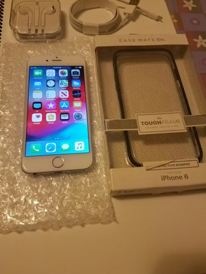 Iphone 6 unlocked 64 gb good condition with accessories for Sale in Alexandria, VA