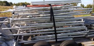 Werner Rolling Dual Platform Stairway Scaffold for Sale in Polk City, FL