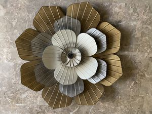 Decorative Metal Flower for Sale in Gilbert, AZ
