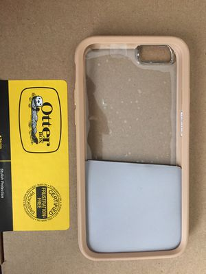 iPhone 6/6s otter box (clear/roasted tan) for Sale in Chelan, WA
