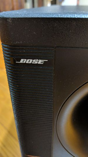 Used, Bose powered subwoofer acousticmass for Sale for sale  Staten Island, NY