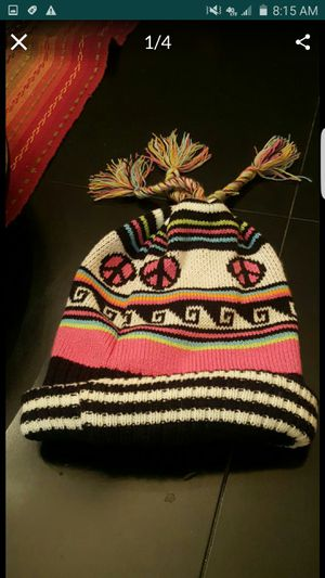 Warm hat kids sz 2/4 yrs. & justice gloves new for Sale in Norwalk, CA