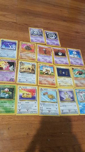 1995- 1st edition Pokemon Cards for Sale in Avon Lake, OH