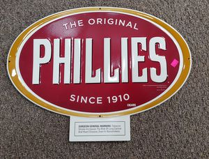 Metal Phillies Sign for Sale in Burlington, NC
