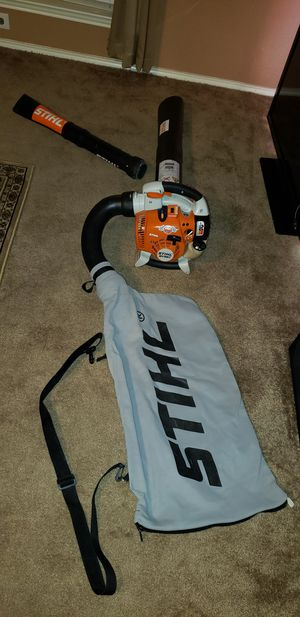 💨LIKE NEW STIHL SH86C BLOWER/VAC, STARTS 1ST PULL, RUNS STRONG echo hedge trimmer lawnmower weedeater edger commercial scag chainsaw serrucho for Sale in Cedar Hill, TX