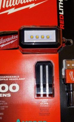 Milwaukee Red-Lithium USB 600 Lumens Rechargable🔴NEW 🔴PRICE FIRM for Sale in La Puente,  CA