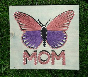 Mom Butterfly String Art Home Decor for Sale in Imperial, MO