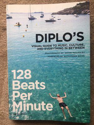 Diplo's 128 Beats Per Minute Book for Sale in Fairfax, VA