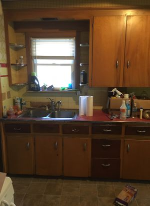 Old kitchen cabinetry $100 for Sale in Cleveland, OH