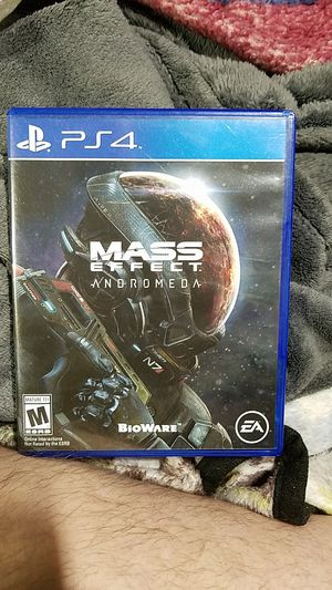 Mass Effect Andromeda,ps4 for Sale in Maud, OK