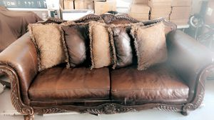 Ashley furniture sofa and table set for Sale in Tracy, CA