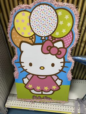 Hello kitty piñata for Sale in Houston, TX