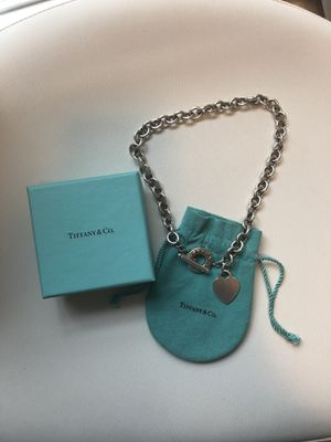 Tiffany & Co. Heart Toggle Necklace - Sterling Silver for Sale in Penn Valley, PA