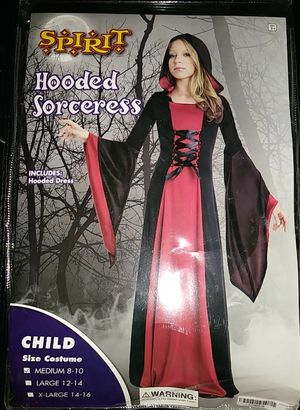 Child's Hooded Sorceress costume for Sale in Kent, WA