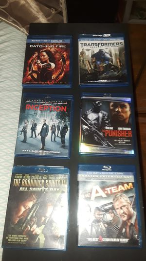 Several popular bluray/DVD digital player movies for Sale in Montgomery, AL