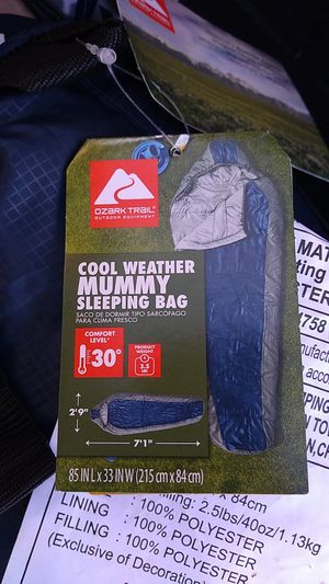 Mummy sleeping bag for Sale in Montebello, CA
