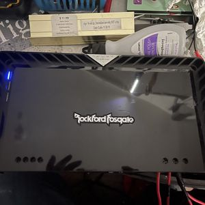Rockford Fosgate T1500-1bdcp Strong Amp (NO TRADES CASH ONLY) for Sale in Cicero, IL