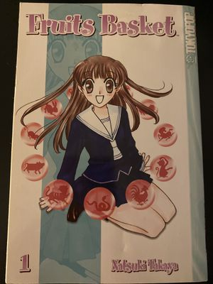 Fruits Basket Vol.1 Manga Natsuki Takaya for Sale in Charlottesville, VA