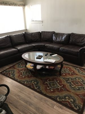 Couch end tables coffee tables and rugs for Sale in Oroville, CA