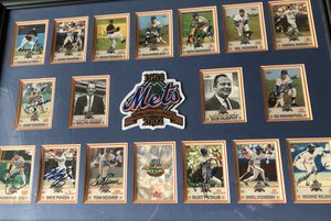 Amazing '62 Mets Autographed baseball card collection for Sale in Austin, TX