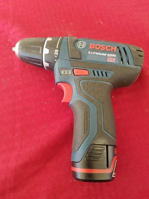 "BOSCH PS31 12 Volt 2 Speed Cordless Li-Ion 3/8"" Drill Driver with battery for Sale in Acampo, CA"
