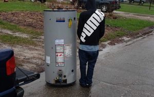 75 gallon used hot water heater for Sale in Detroit, MI