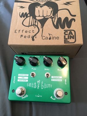 Caline crazy cacti overdrive plus boost for Sale in Anaheim, CA