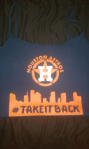Astros custom made shirts for Sale in Houston, TX