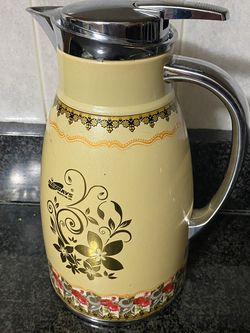 day days enjoy the life glass thermal coffee pot for Sale in Oak Lawn,  IL