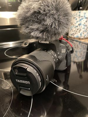 Canon 60 D Video set up for Sale in Norfolk, VA