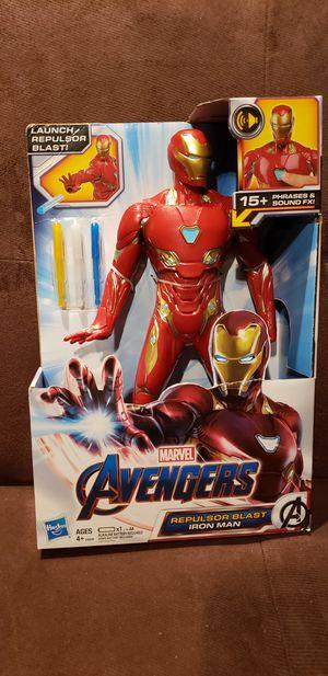 Marvel Avengers Repulsor Blast Iron Man 13 Inch Figure for Sale in Los Angeles, CA