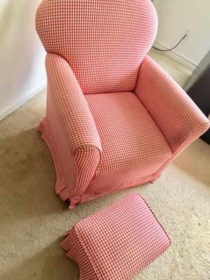 Rocking chair & foot stool for Sale in Washington, DC