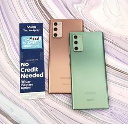 Samsung Galaxy Note20 5G 128gb Unlocked for Sale in Seattle,  WA