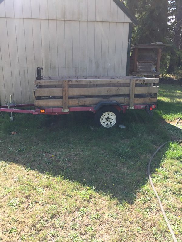 Utility Trailer / Motorcycle Trailer