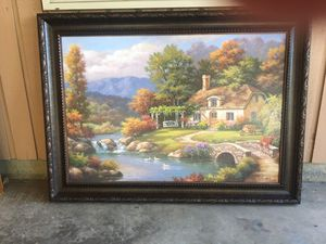 Cottage Oil Painting for Sale in Vancouver, WA