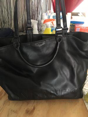 Nine West black leather bag for Sale in Spokane, WA