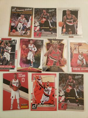 Damian Lillard Portland Trail Blazers NBA basketball cards for Sale in Gresham, OR